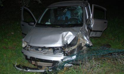 Grave incidente nella notte per due giovani di Settimo