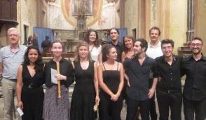 I vincitori del corso internazionale di Musica Antica