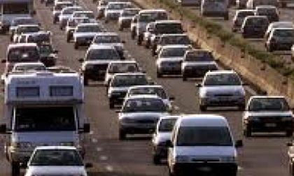 Traffico da bollino rosso sulle strade del rientro