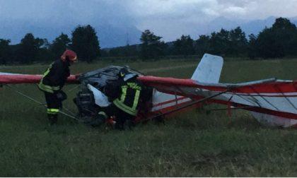 Caluso, precipita aereo: due feriti gravi