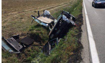Ennesimo incidente stradale sulla statale 26: tre feriti alla Carolina di Caluso