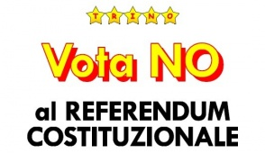 I 5 Stellle a Trino per dire no al Referendum