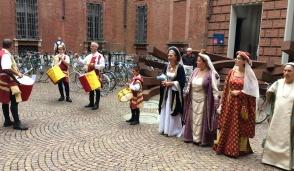 Il gruppo storico Marchesi di Paleologi «invade» Torino