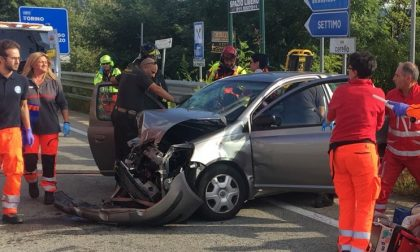 Incidente a Chivasso Ovest: due feriti gravi