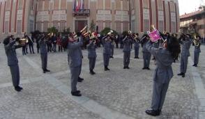 I bersaglieri invadono il centro di Settimo per il raduno cittadino