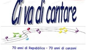 L'Anpi di Crescentino celebra i 70 anni della Repubblica in musica
