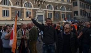 """L'assessore settimese Antonello Ghisaura a Roma per il """"Si'"""""""