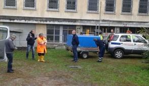 San Mauro: scuola allagata, interviene la Protezione Civile