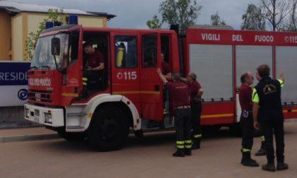 Incendio in una palazzina di Venaria: evacuate cinque famiglie