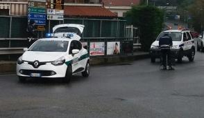 San Mauro, incidente alla rotonda: viabilità rallentata