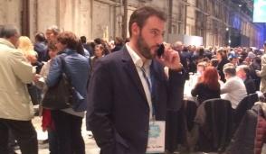 San Mauro, politica: l'ex segretario Pd Fabio Lo Cicero alla Leopolda con Renzi