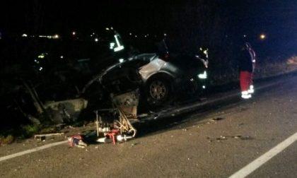 Scontro tra un'auto e un camion: morto Michele Casa