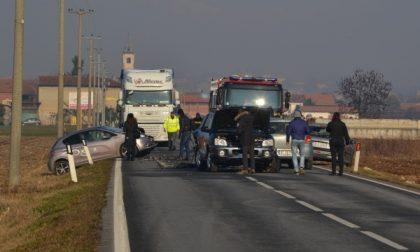 Grave incidente stradale: viabilità bloccata