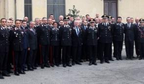Il Generale Amato in visita al comando provinciale dei Carabinieri di Vercelli