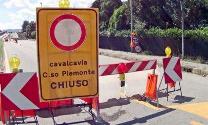 Settimo, sul cavalcavia di corso Piemonte ancora  transito a senso unico