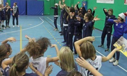 Settimo, una grande festa di Natale per le pallavoliste Lilliput