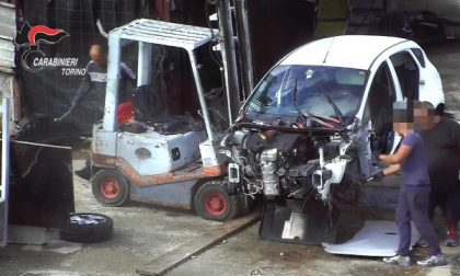 Sgominata la banda di auto in Canavese