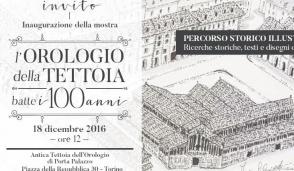 Una mostra per i 100 anni dell'orologio della tettoia di Porta Palazzo