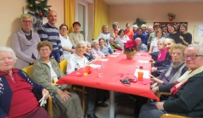 Festa di Natale alla Rsa Hospice di Foglizzo
