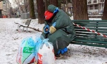 Freddo in città, aiuti ai senzatetto