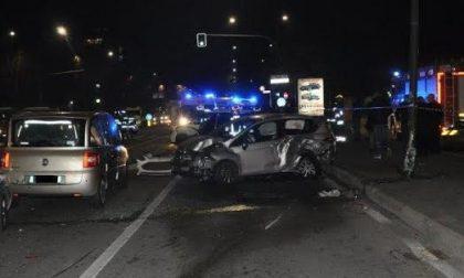 Maxi incidente stradale: scontro tra sette auto