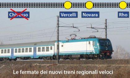 Rivoluzione trasporti per i nostri pendolari, da domani debuttano i treni Fast. Ma non fermano a Chivasso