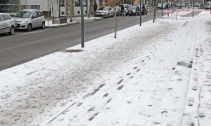 Settimo, dopo la nevicata polemiche per le strade ghiacciate