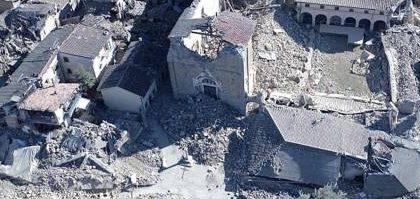 Tre  forti scosse di terremoto in Centro Italia