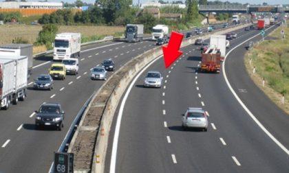 53enne in contromano in autostrada ubriaco