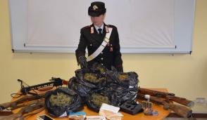 Droga e armi: arrestato pensionato di Volpiano