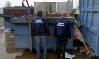 Isole ecologiche ispezionate dai carabinieri