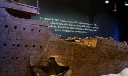 A Torino i resti del Titanic, pochi giorni all'apertura