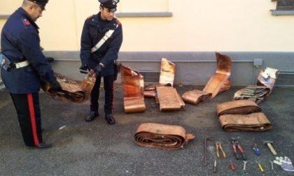 Sequestrati 160 chili di rame rubato