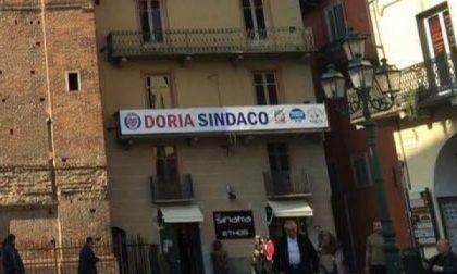 """Chivasso, Doria: """"Lo striscione resta dove'è"""""""