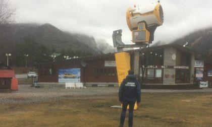 Controlli sulle piste da sci, problemi con i rifiuti