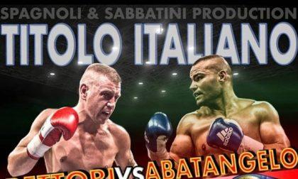 Niente titolo italiano per Abatangelo: l'avversario dà forfait per motivi di salute
