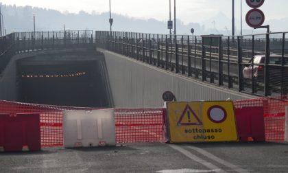 San Mauro, chiuso al traffico il tunnel