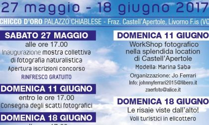 Al via il concorso fotografico a Castell'Apertole di Livorno Ferraris