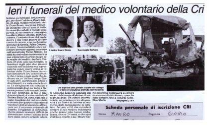 La Croce Rossa in lacrime per il medico morto in servizio sull'autostrada