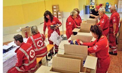 Settimo, colletta alimentari dei volontari della Croce Rossa  per i più poveri
