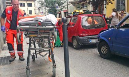 Settimo, incidente in centro città. Un conducente lievemente ferito e traffico in tilt