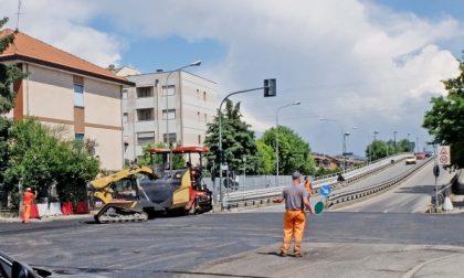 Settimo, proseguono i lavori di asfaltatura delle strade