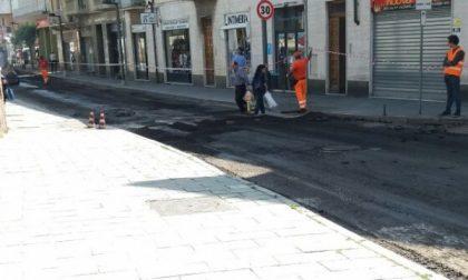 Settimo, proseguono i lavori di  riasfaltatura  delle strade