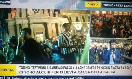 Allarme durante Juve - Real, feriti in piazza San Carlo a Torino