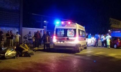 Incidente a Brandizzo: scooter contro auto, un ferito in codice giallo