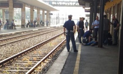 Chivasso, malore in stazione