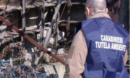 Torrazza Piemonte,scoperte  tonnellate di rifiuti abbandonati
