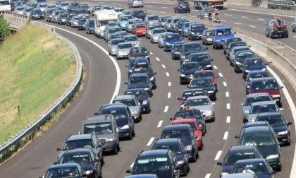 Frana in autostrada: riapre il tratto della A5
