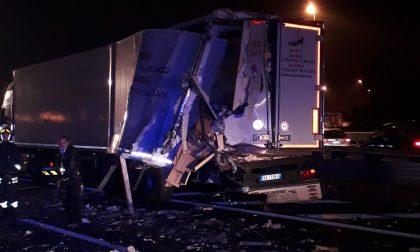 Incidente autostrada Torino Milano uscita Chivasso Ovest chiusa LE FOTO