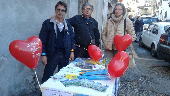 L'associazione vittime della strada presenti al funerale della piccola Beatrice Montrucchio